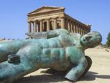 Buy Tempio Della Concordia, Valle Dei Tempi, Agrigento, Sicily, Italy at AllPosters.com
