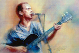 Dave Matthews Band Jamming Music Poster
