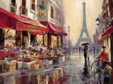 April in Paris Art Print