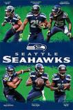 Seattle Seahawks Team Poster