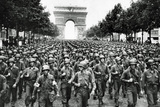 American Soldiers in Paris WWII Poster