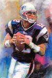 Tom Brady New England Patriots POSTER NFL Super Bowl
