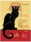 Buy Chat Noir Vintage Style Advertisement Poster at AllPosters.com