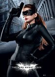 The Dark Knight Rises - Catwoman Movie Poster Print