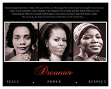 Dreamer (Trio): Peace, Power, Respect