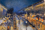 Camille Pissarro The Boulevard Montmartre Poster