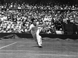 Fred Perry in Action, 5th July 1935