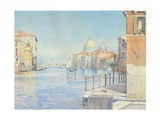 Buy The Gran Canal, Venice, with the Santa Maria Della Salute, 1910 at AllPosters.com
