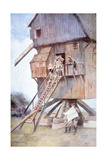 Buy British Observation Post in a Windmill in Flanders, 1918 at AllPosters.com