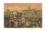Forum Romanum, Rome. Postcard Sent in 1913