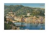 Portofino, Italy. Postcard Sent in 1913