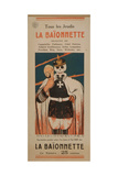 'La Baïonnette.' Every Thursday. Off with the Masks?... There it Is!, 1916