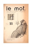 L'Affaire Desclaux, Cover of 'Le Mot' Magazine, Februrary 20 1915