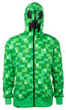 Youth Zip Hoodie: Minecraft Creeper