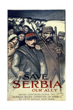 "Buy ""Save Serbia, Our Ally"", 1916 at AllPosters.com"