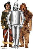 Tin Man, Cowardly Lion and Scarecrow - The Wizard of Oz 75th Anniversery Lifesize Standup Poster Li Stand Up