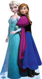Elsa and Anna - Disney's Frozen Lifesize Standup Poster Lifesize Standup Poster