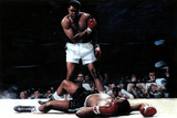 Muhammad Ali (Vs. Sonny Liston) Sports Poster