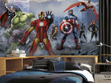 Avengers Assemble Mural 6' x 10.5' - Ultra-strippable