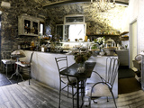 Buy Interior of Varenna Caffe on Waterfront in Varenna, Lake Como, Lombardy, Italy at AllPosters.com