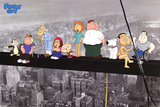 Family Guy - On a skyscraper Poster