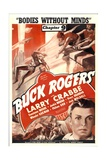 BUCK ROGERS, Larry Crabbe in 'Chapter 9: Bodies Without Minds', 1939