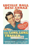 THE LONG, LONG TRAILER, Desi Arnaz, Lucille Ball, 1954