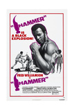 HAMMER, US poster, Fred Williamson, 1972.