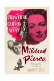 MILDRED PIERCE, top right: Joan Crawford, bottom from left: Zachary Scott, Jack Carson, 1945.