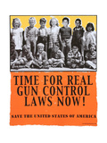 Time For Real Gun Control Laws Now!