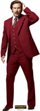 Anchorman 2: The Legend Continues - Ron Burgundy Lifesize Standup Stand Up