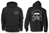 Zip Hoodie: Breaking Bad - Heisenberg and Crossbones