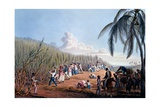 Slaves Cutting the Cane, from 'ten Views in the Island of Antigua', 1823