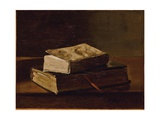 Still Life with Two Books, 1858