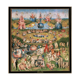 Hieronymus Bosch (1450 ? 1516). Dutch Painter. The Garden of Earthly Delights. Between 1490 and…
