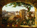 Piazza Barberini, Rome, 1830