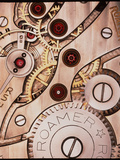 Internal Cogs And Gears of a 17-jewel Swiss Watch