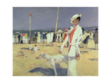Buy Woman by the Sea (Elegante Au Bord De La Mer) at AllPosters.com