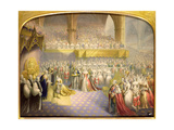 Her Most Gracious Majesty Queen Victoria (1819-1901) Receiving the Sacrament at Her Coronation,…