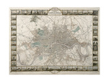 Tallis's Illustrated Plan of London and it's Environs, in Commemoration of the Great Exhibition…