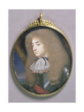 Portrait Miniature of a Man in Armour, C.1660