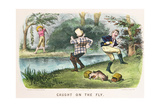 Caught on the Fly, Pub. by Currier and Ives, New York, 1879