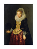 Portrait of a Young Lady, 1622