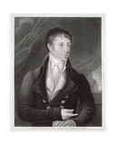 Portrait of Charles Brockden Brown (1771-1810), Engraved by John B. Forrest (1814-70)
