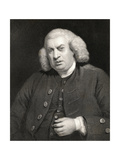 Portrait of Dr. Samuel Johnson (1709-84)