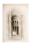 Tracery from the Campanile of Giotto, Florence, from
