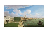 A Panoramic View of the Thames with St. Paul's