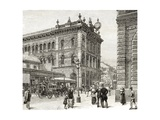 The Post Office, George Street, Sydney, C.1880, from