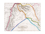 Map of Syria, Mesopotamia, Assyria &C., from 'The Atlas of Ancient Geography', by Butler…