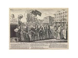 The Repeal, or the Funeral Procession of Miss Americ-Stamp, London, 1766
